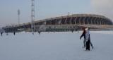 Зимова розвага — це каток на острові відпочинку Красноярська, створений з великою любов'ю для дітей і дорослих.