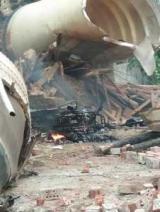 Обломки китайской ракеты упали на жилые дома