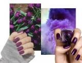 Осенний маникюр в фиолетовых тонах, что вам нужно сделать прямо сейчас